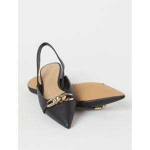 H&M Pointed Slingback Mule Flats